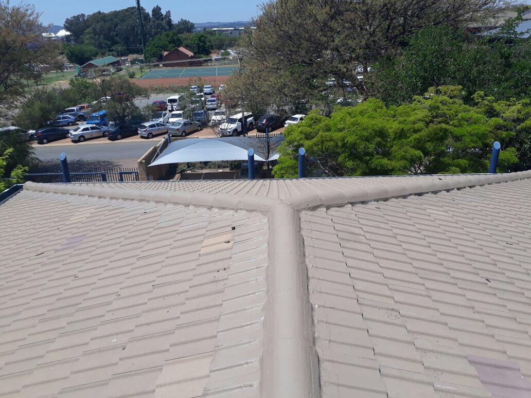 Waterproofing tile roof, ridge & hips