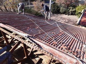 Repairing existing zinc roof